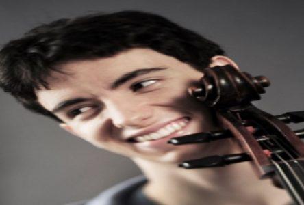 Le jeune violoncelliste Stéphane Tétreault en tournée à Baie-Comeau