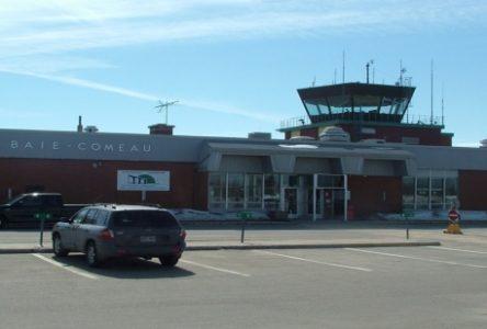 L'aéroport de Baie-Comeau pourrait perdre un quart de son revenu