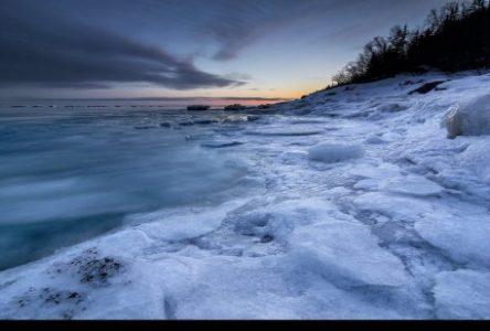 Baie-Comeau a gelé en février