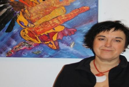 Sandrine Lebrun propage son énergie dans l'aventure Mandango