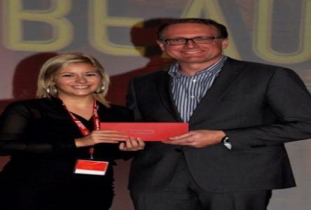 Une stagiaire du CPRCN honorée