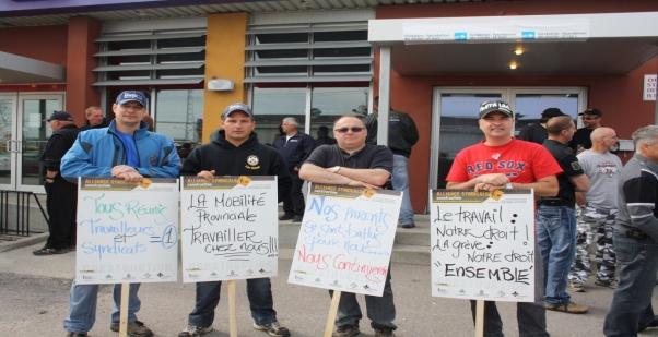 Grève dans la construction : la Côte-Nord durement touchée