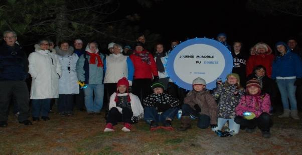 La Marche Bleue attire 37 personnes
