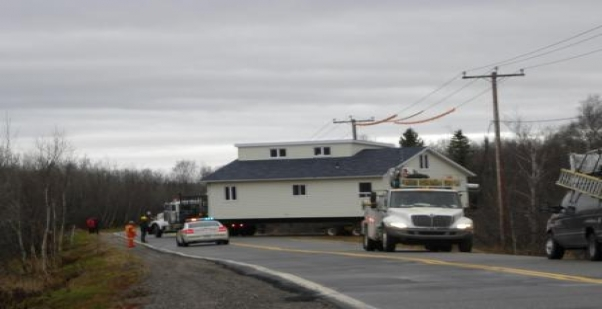 Pointe-Lebel : Une autre maison déménagée