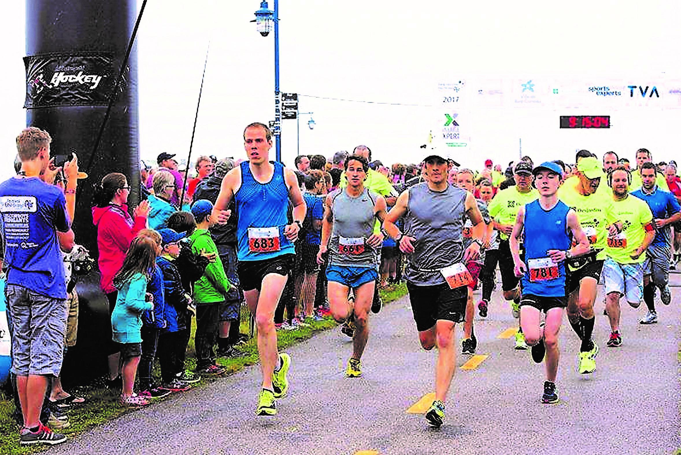 Le Marathon de Baie-Comeau verra le jour en 2018