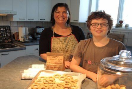 Gourmand Cabot fabrique des biscuits pour chiens