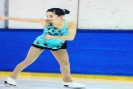 La patineuse Alicia Miville s'illustre sur la scène provinciale