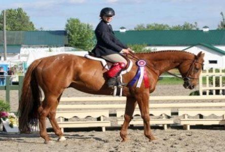 Une belle sortie pour Caroline Martin et son cheval