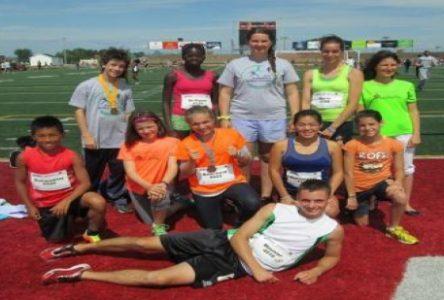 Le Club local d'athlétisme laisse sa marque