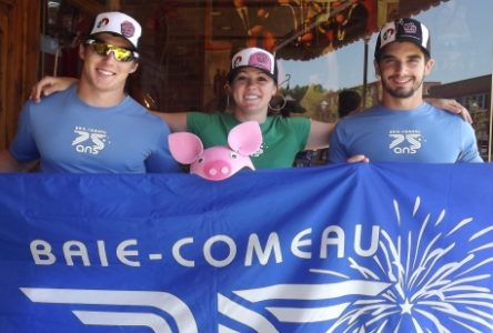 Festival du cochon de Ste-Perpétue : Une équipe baie-comoise fera la course aux cochons