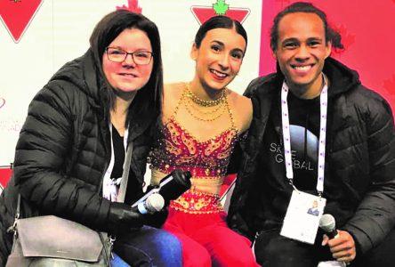 Championnats nationaux de patinage artistique – Emy Decelles reprend sa place dans le top 10 canadien