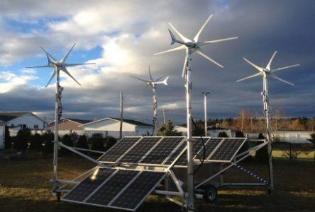 Une station énergétique « portable » testée à Baie-Comeau