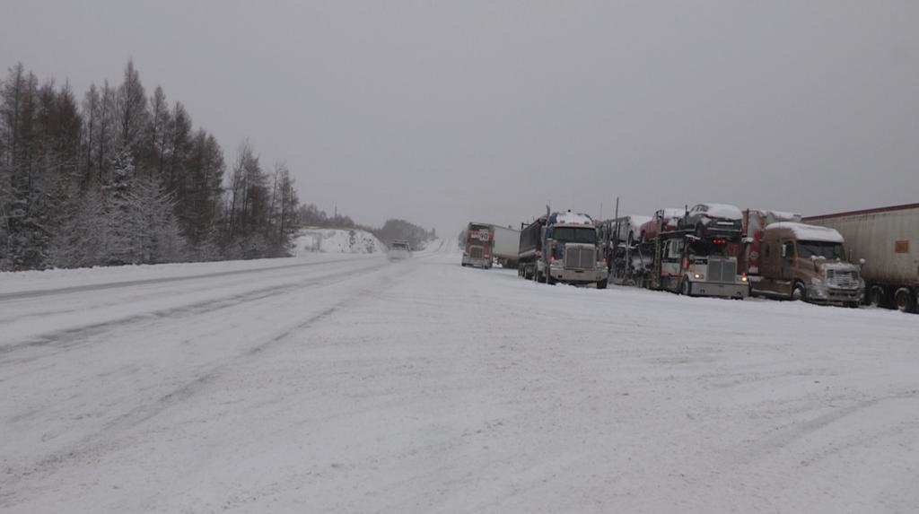 Écoles fermées et circulation difficile sur les routes