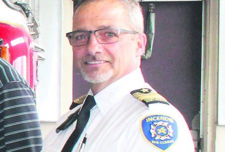Claude Ruest redevient pompier à Baie-Comeau