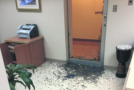 Vol et vandalisme à l'hôtel de ville