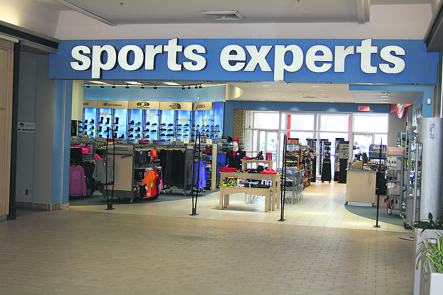 Sports Experts prend de l'expansion