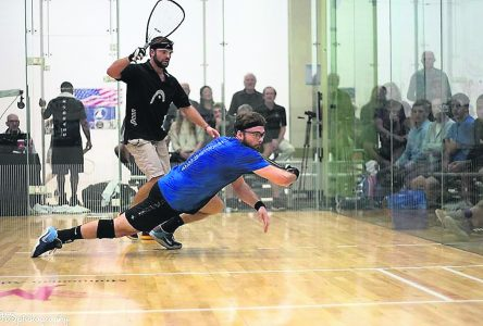 Racquetball : Samuel Murray atteint la demi-finale