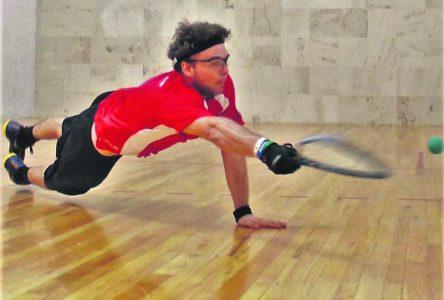 Racquetball : Samuel Murray en quart de finale