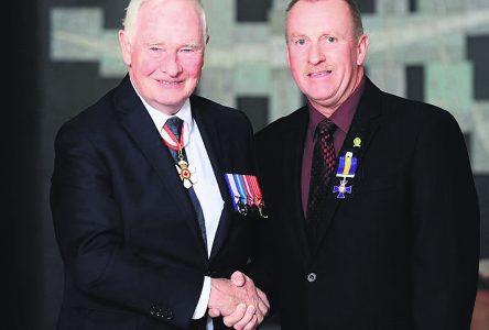 Un bel honneur pour l'ancien commandant Pinel