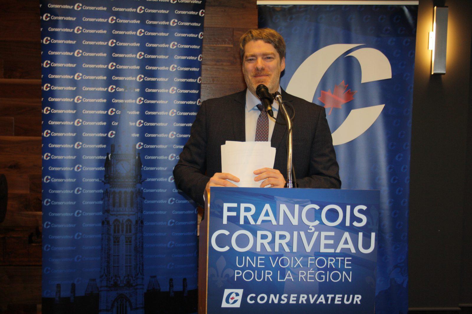 François Corriveau, candidat conservateur dans Manicouagan