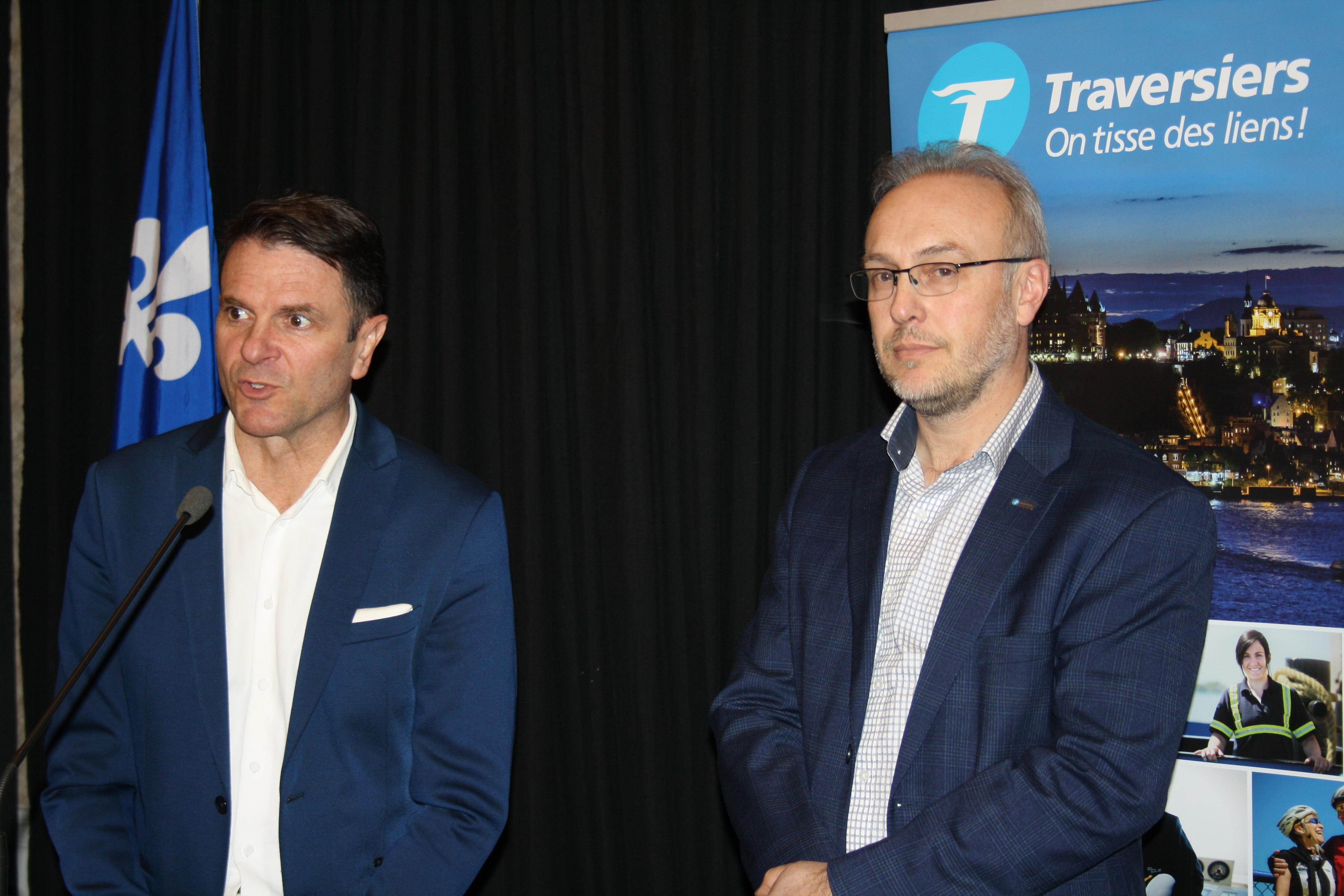 Traversier : le ministre Bonnardel promet une campagne touristique