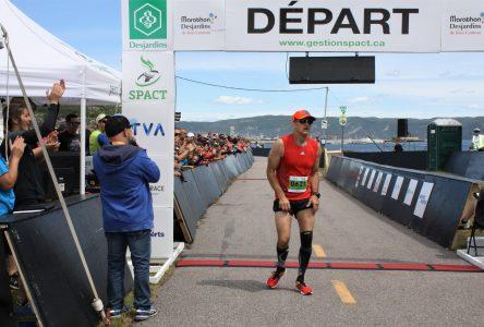 Gilles Tremblay et Annie Ouellet dominent le 1er Marathon Desjardins