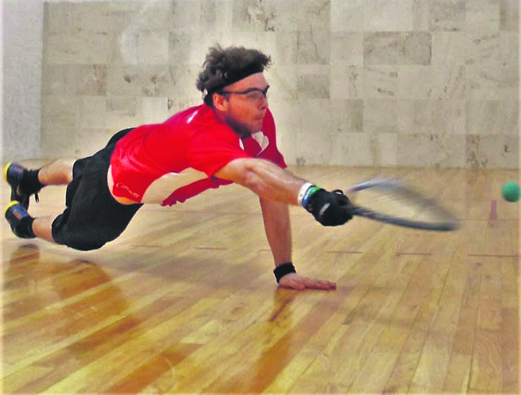 Racquetball : Samuel Murray revient à la charge à Winnipeg