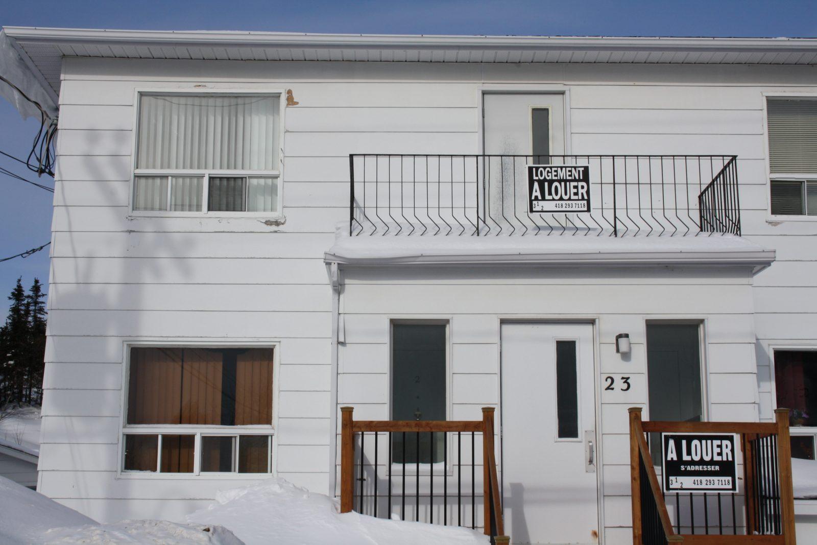 Troisième rang chez les villes de 10 000 à 50 000 habitants – Les logements vacants pullulent à Baie-Comeau