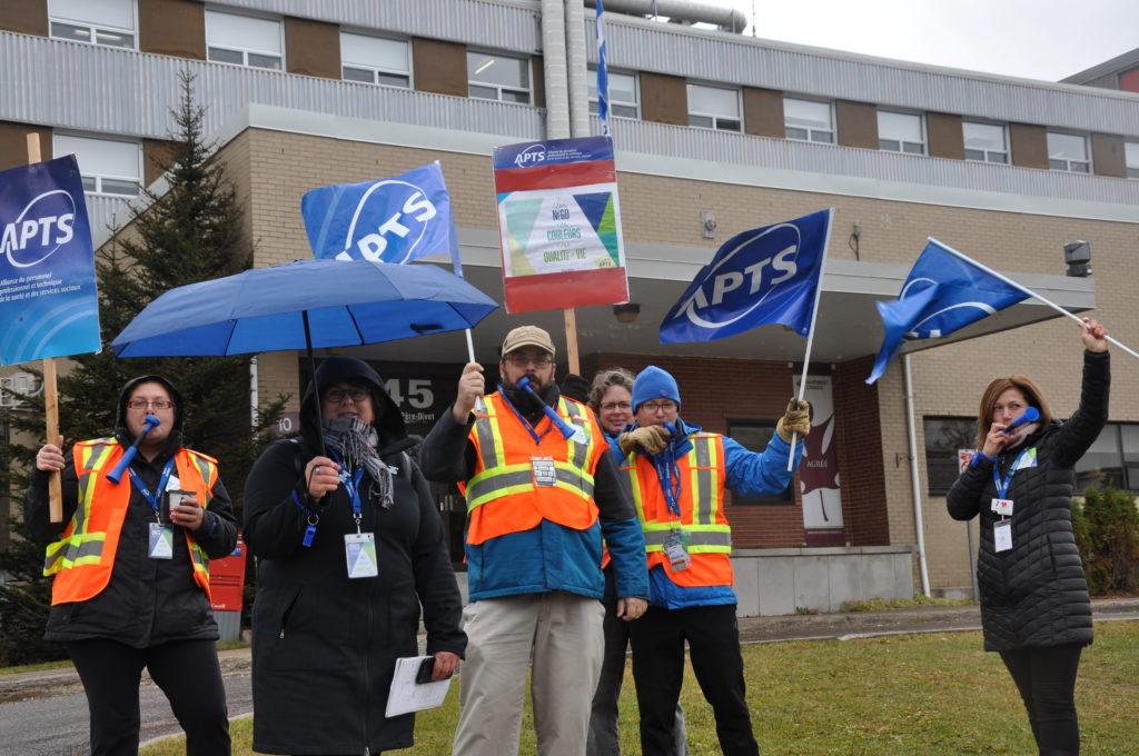 Des employés du CISSS dénoncent la rupture des négociations