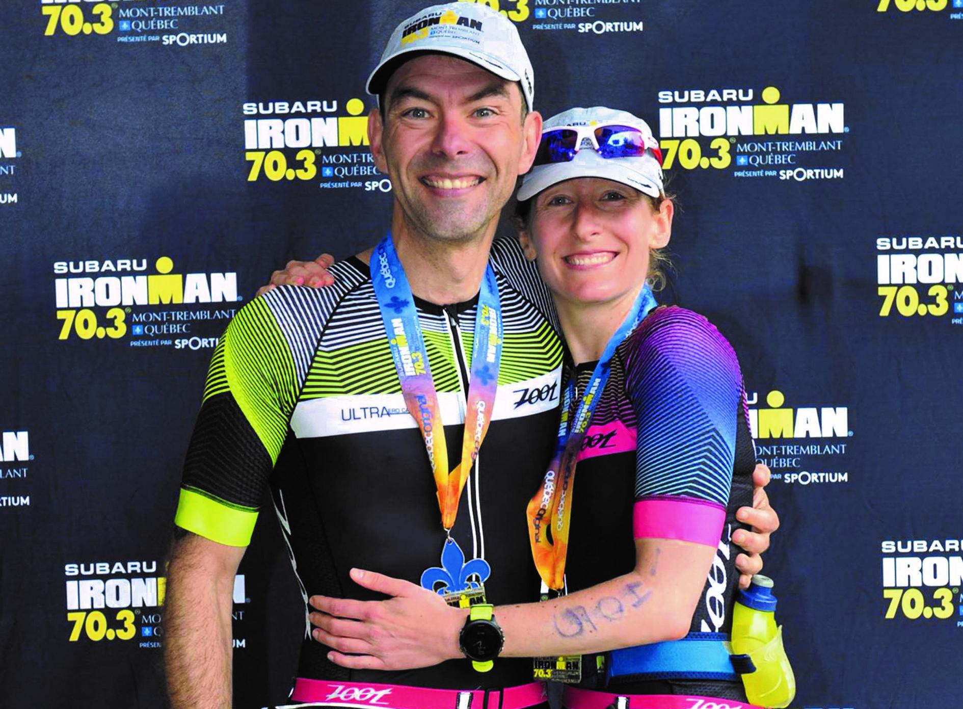 Lemay et Bérubé remettent ça au Ironman 70.3