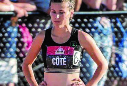 Laurence Côté vise le podium aux championnats canadiens