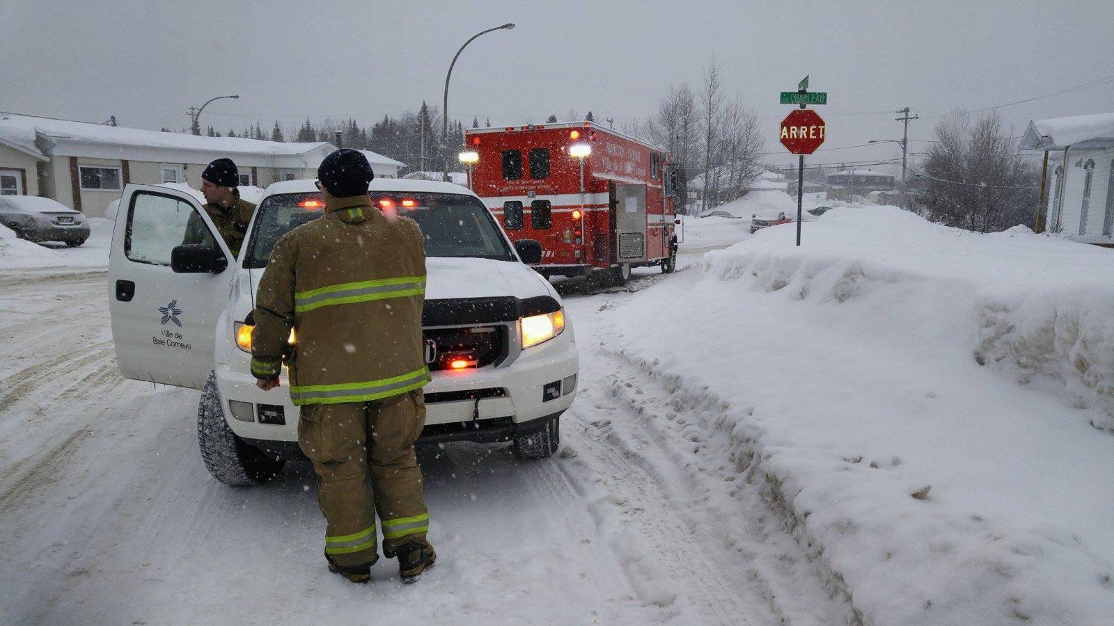 Services offerts à Franquelin, Godbout et Baie-Trinité – Baie-Comeau s'entend avec l'Est en protection incendie