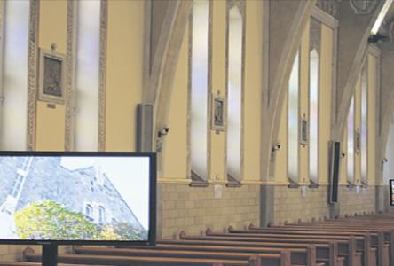 Église Sainte-Amélie: Une présentation multimédia pour agrémenter la visite