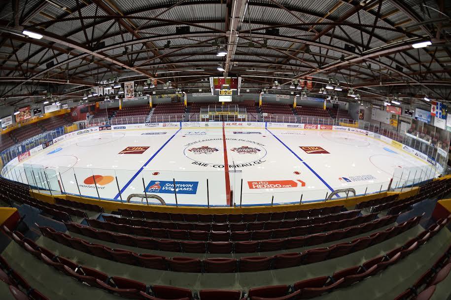 Une salle comble pour le 6e match Canada-Russie