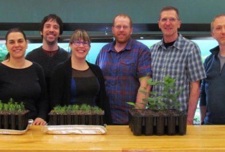 Technologie forestière innove avec une entreprise-école