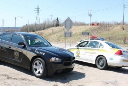 Opérations policières en cours
