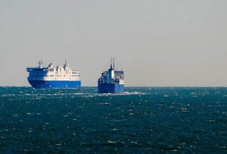 Le F.-A.-Gauthier est arrivé à bon port