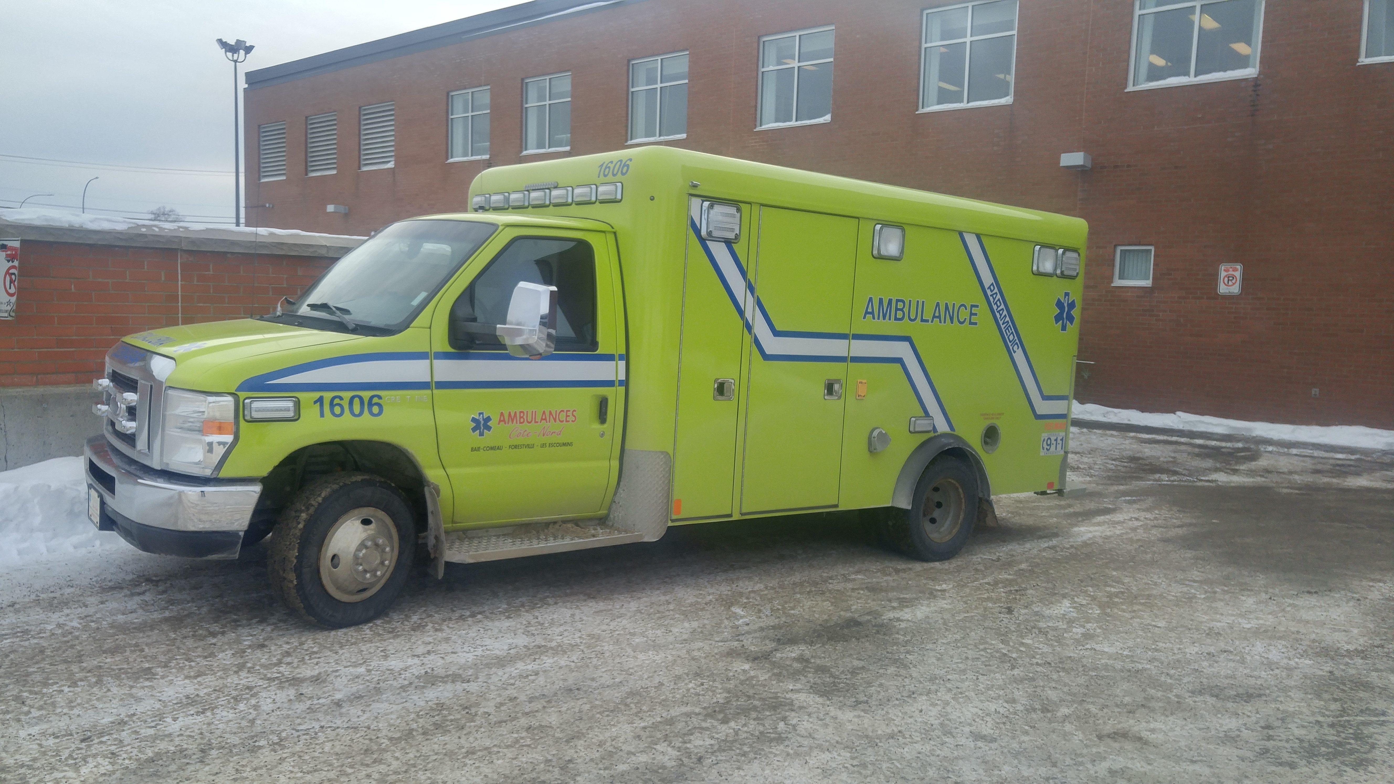L'entreprise Ambulances Côte-Nord passe aux mains de Paraxion
