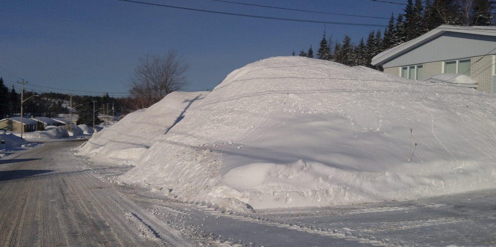 Deux fois plus de neige que la normale en février
