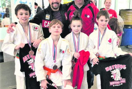 Quatre judokas s'illustrent au Challenge de Boucherville