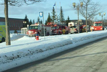 Incendie à l'hôpital