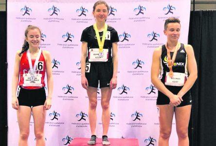 Athlétisme en salle – Léony Guimont couronnée championne provinciale