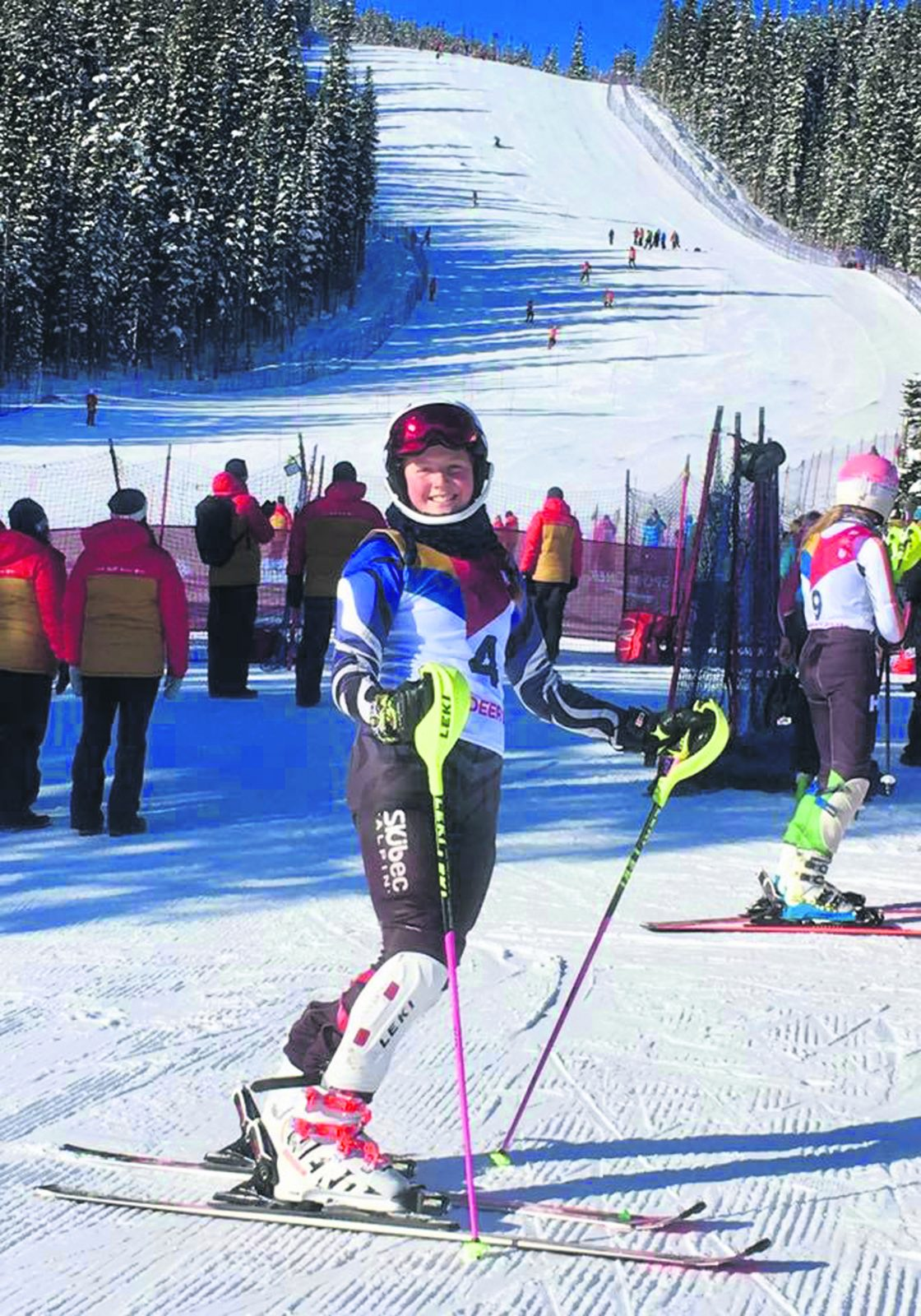 Active à Red Deer en Alberta – Megan fait très bonne figure aux Jeux du Canada
