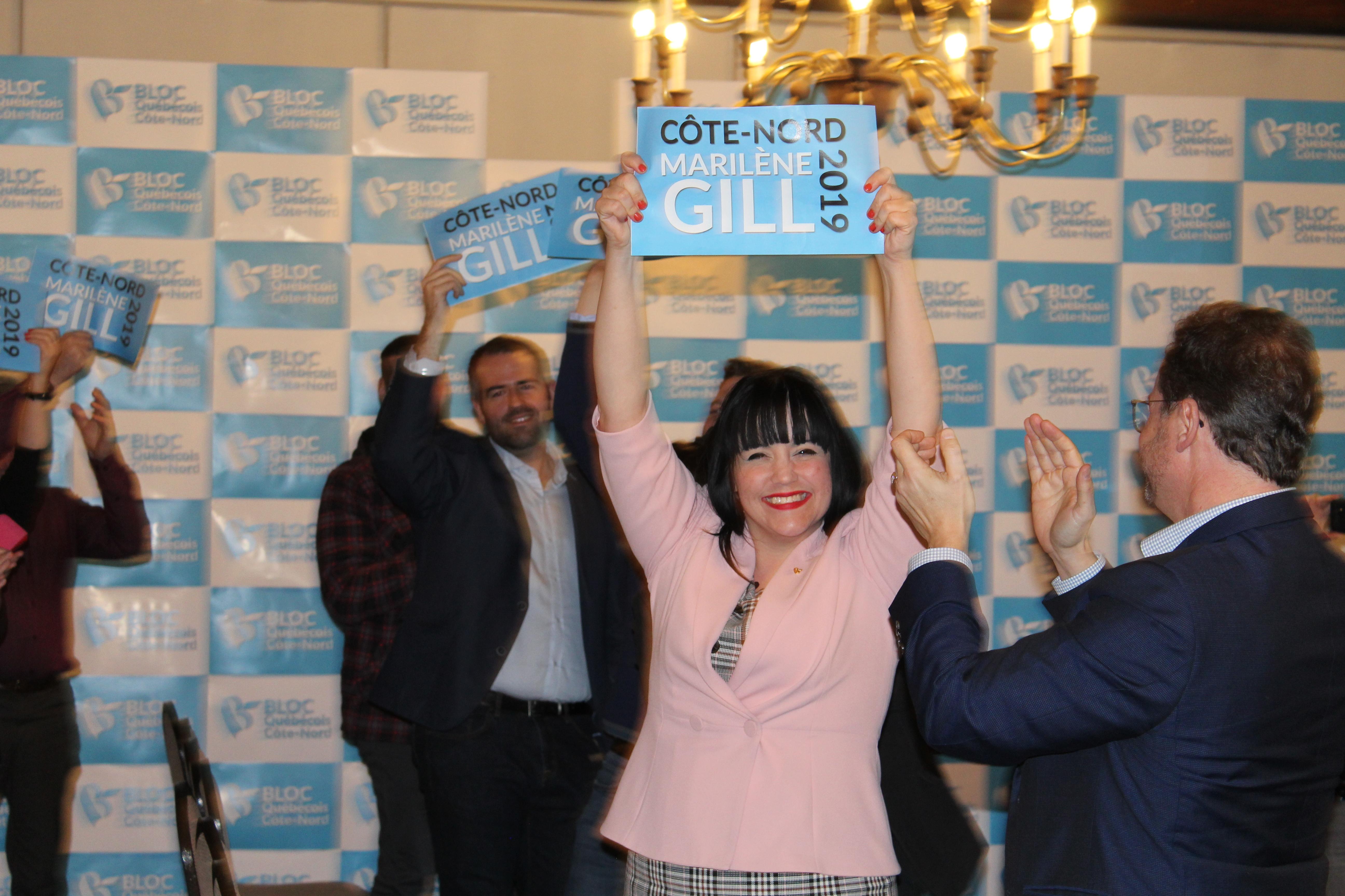 Marilène Gill est confirmée comme candidate du Bloc