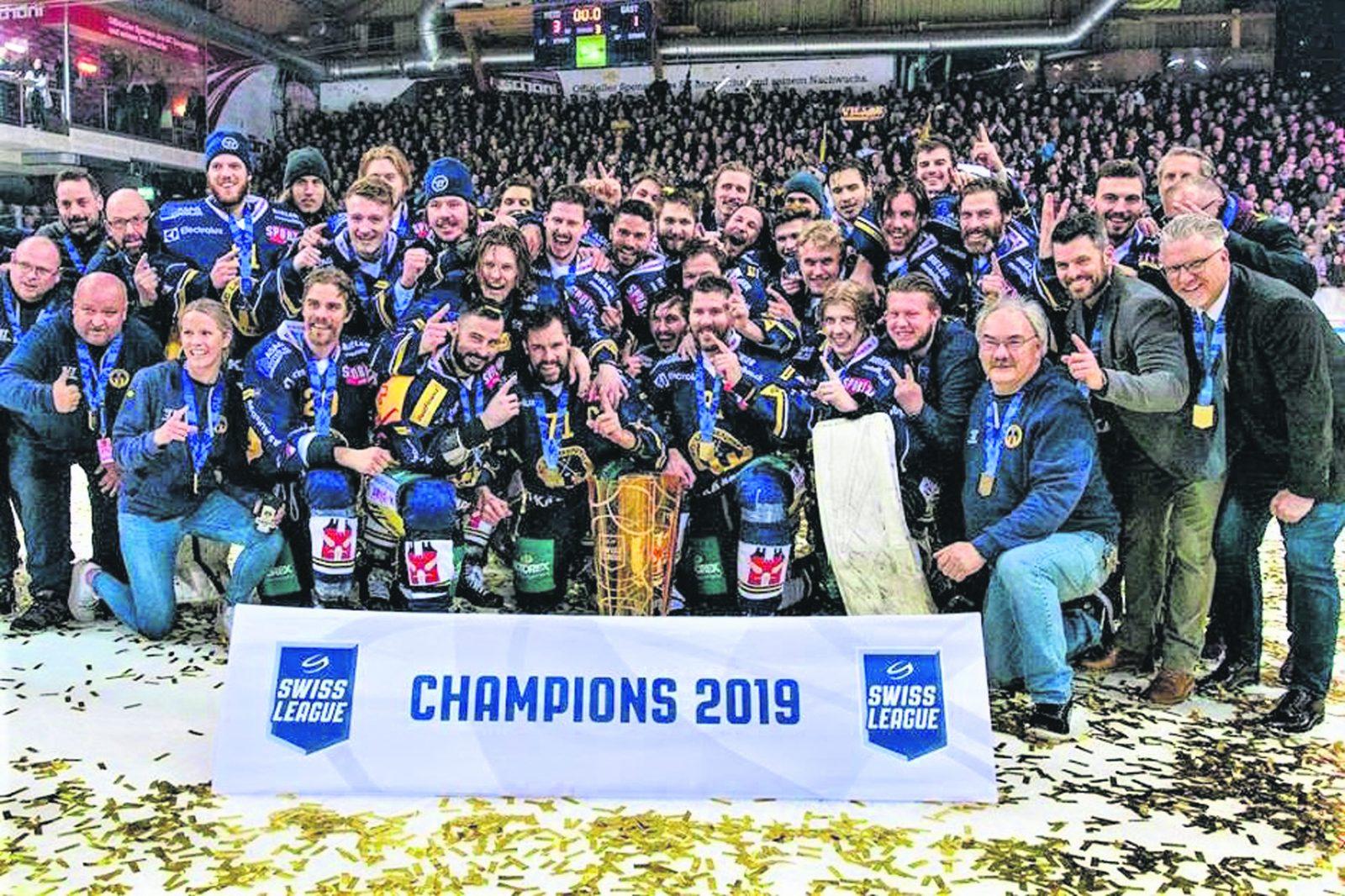 Son équipe couronnée dans la Swiss League – Robin Leblanc et le SC Langenthal triomphent