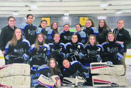 Hockey féminin – Marie-Pier vit une saison mémorable avec les ReBELLES