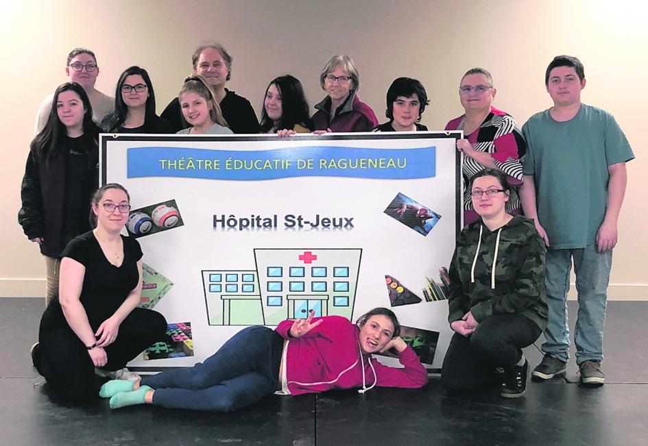 Le Théâtre éducatif monte <i>L'Hôpital St-Jeux</i>