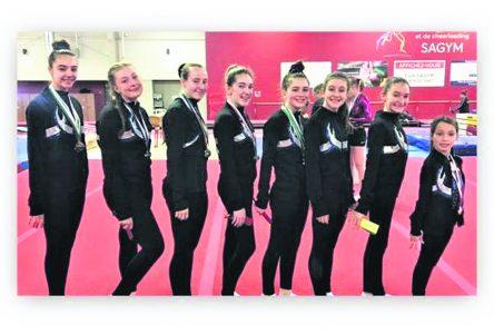 Compétition Invitation à Chicoutimi – Nos gymnastes s'illustrent avec une récolte de 38 médailles