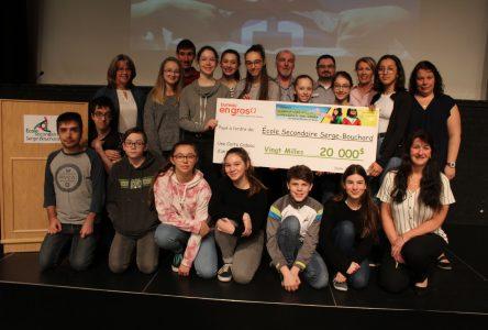 Concours national : l'école Serge-Bouchard remporte un prix de 20 000 $