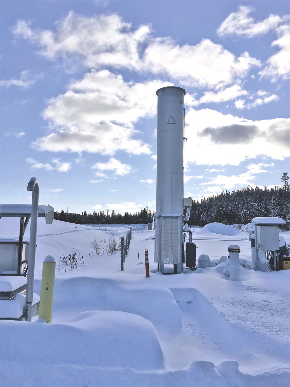 Grâce à l'installation d'une torchère  – Le LET de Ragueneau réduit ses émissions de biogaz